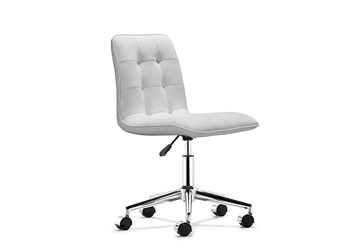Mr Bar Stool Scout Office Chair White