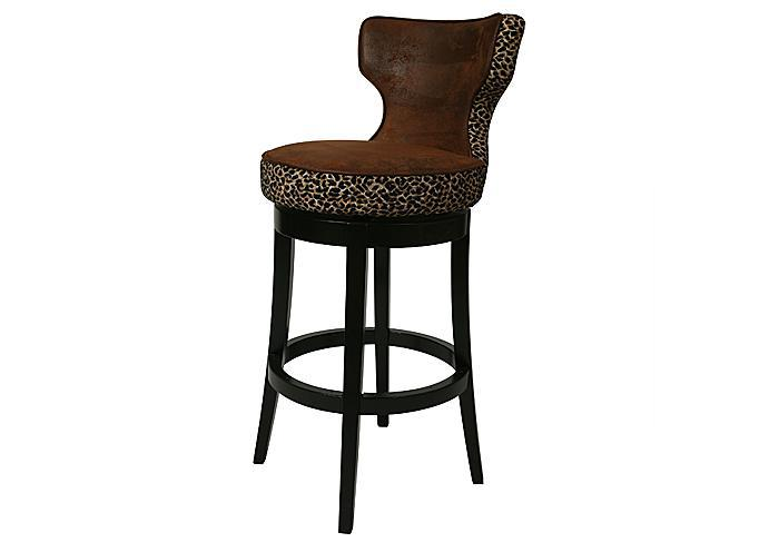 Mr Bar Stool Augusta 26quot Counter Stool in Feher Black  : AE 225 FB 970 from www.mrbarstool.com size 700 x 496 jpeg 20kB